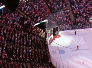 Was this Marty's last game?  {From Press Row} (c) 2014 Michelle Kenneth