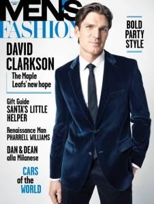 David Clarkson for Men's Fashion Canada