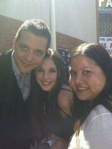 George Stroumboulopoulos (aka Strombo), Winter Adams and MK